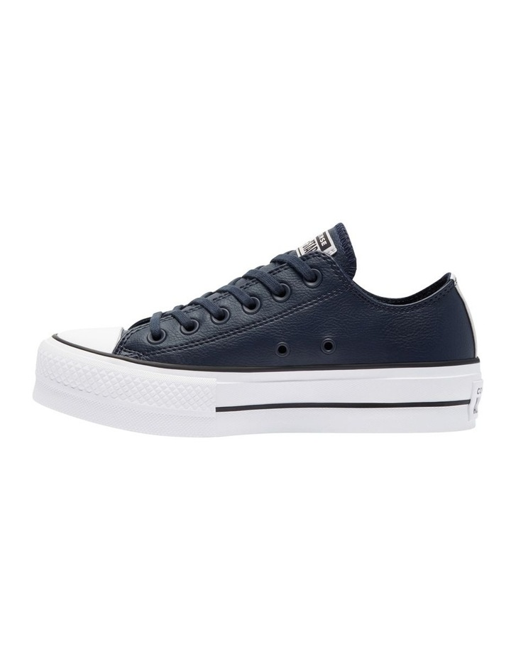 Chuck Taylor Leather Low Lift Obsidian 570453 image 2