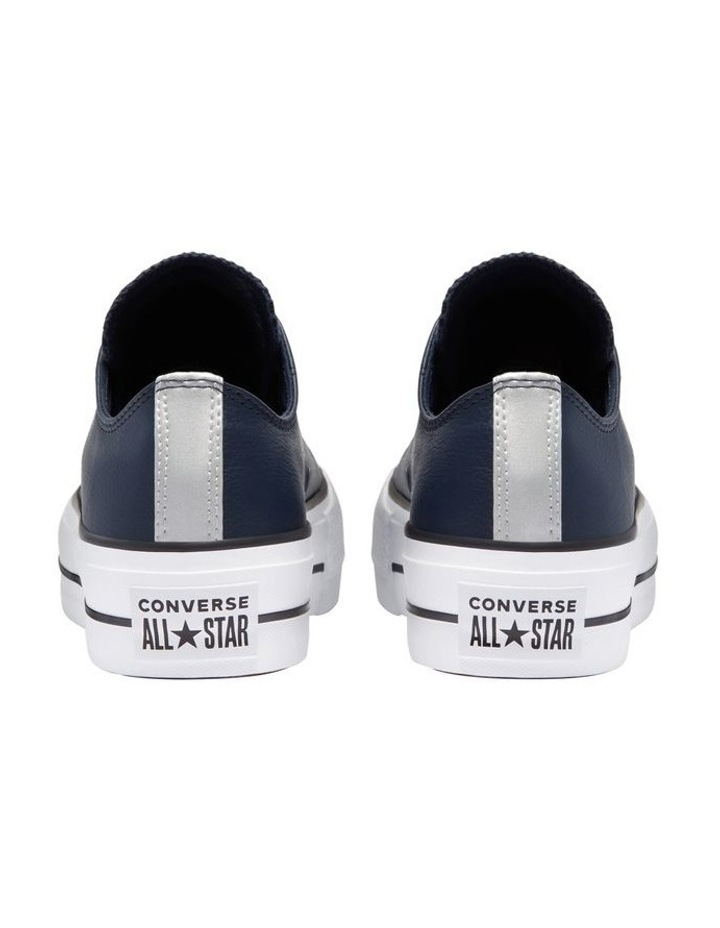 Chuck Taylor Leather Low Lift Obsidian 570453 image 4
