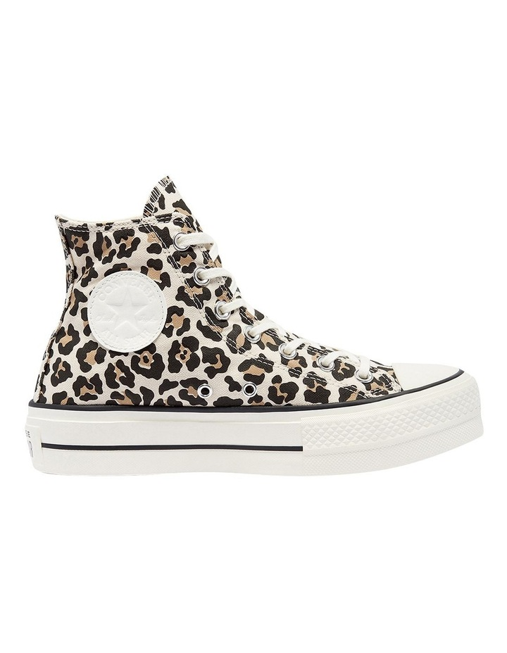 Archive Leopard Print Driftwood Lace-Up Sneaker image 1