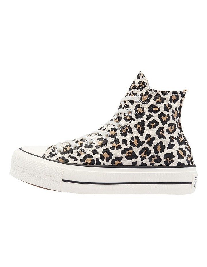 Archive Leopard Print Driftwood Lace-Up Sneaker image 2