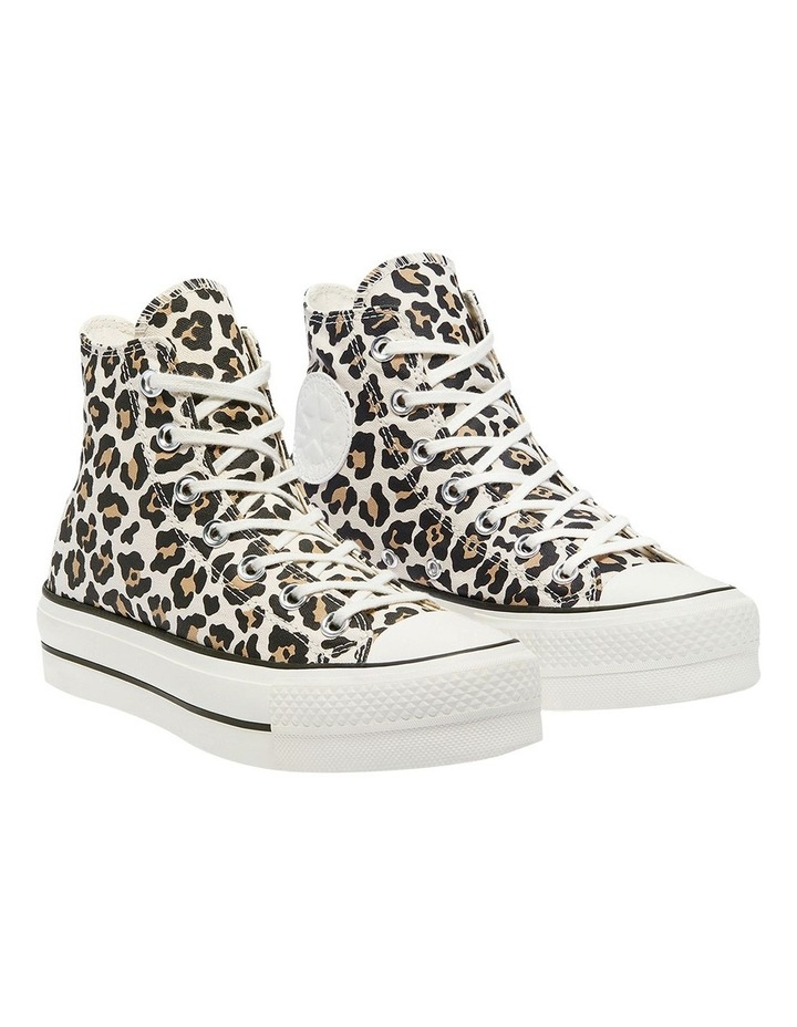 Archive Leopard Print Driftwood Lace-Up Sneaker image 3