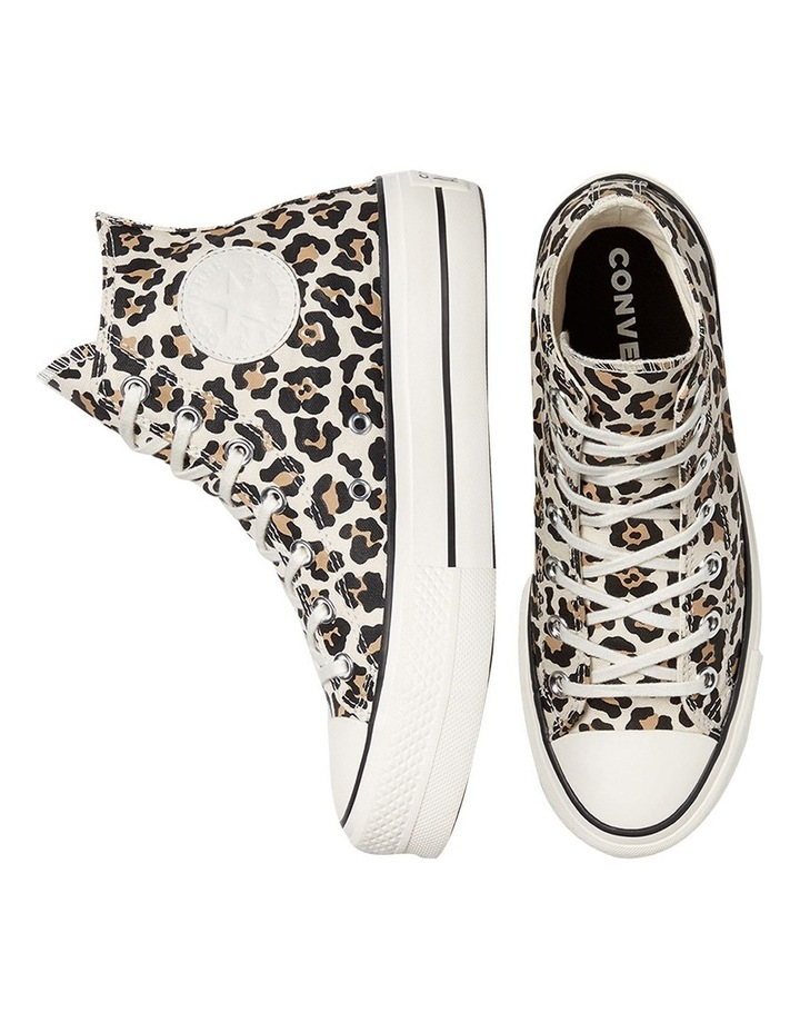 Archive Leopard Print Driftwood Lace-Up Sneaker image 4