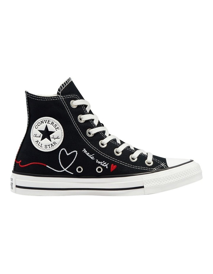 Chuck Taylor All Star Love Thread High Top Black image 1