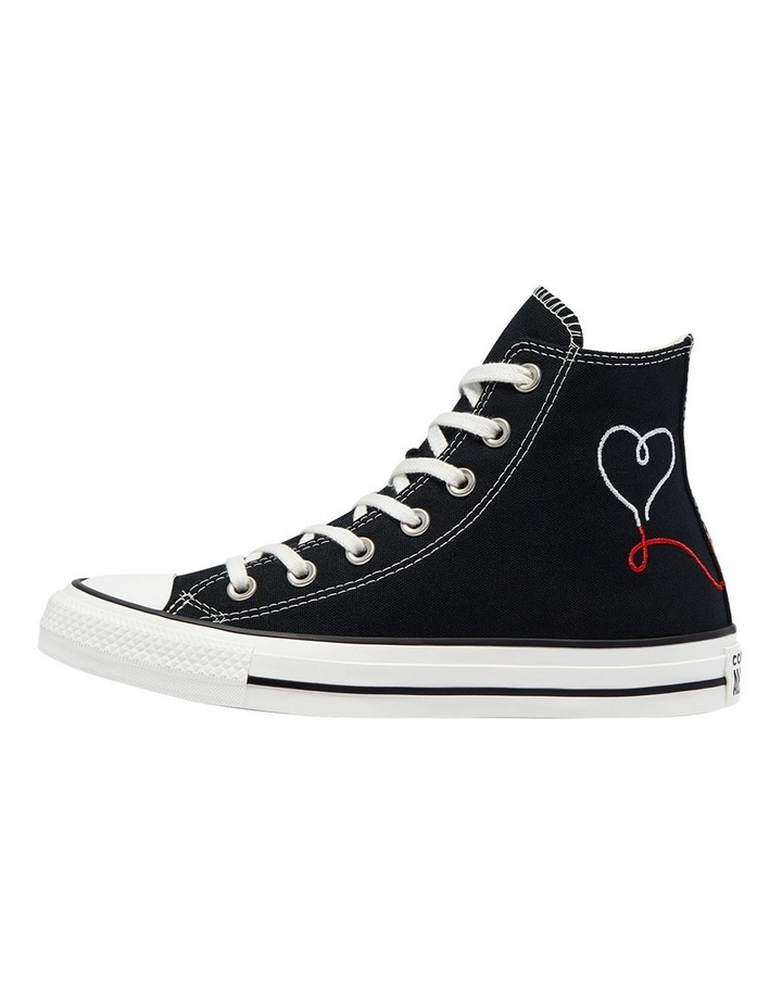 Chuck Taylor All Star Love Thread High Top Black image 2