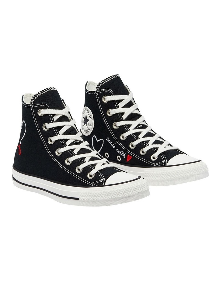 Chuck Taylor All Star Love Thread High Top Black image 3