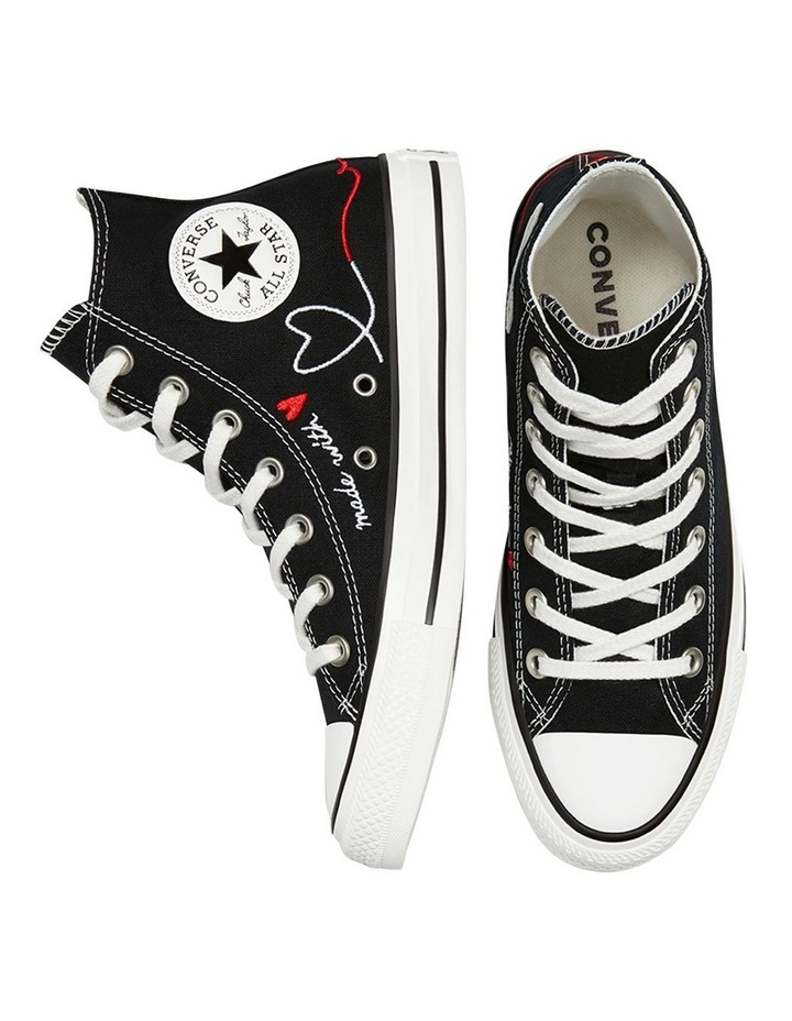 Chuck Taylor All Star Love Thread High Top Black image 4