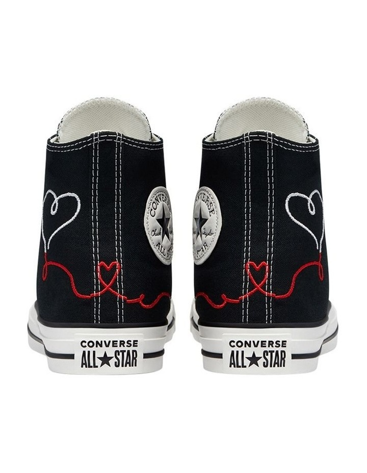 Chuck Taylor All Star Love Thread High Top Black image 5