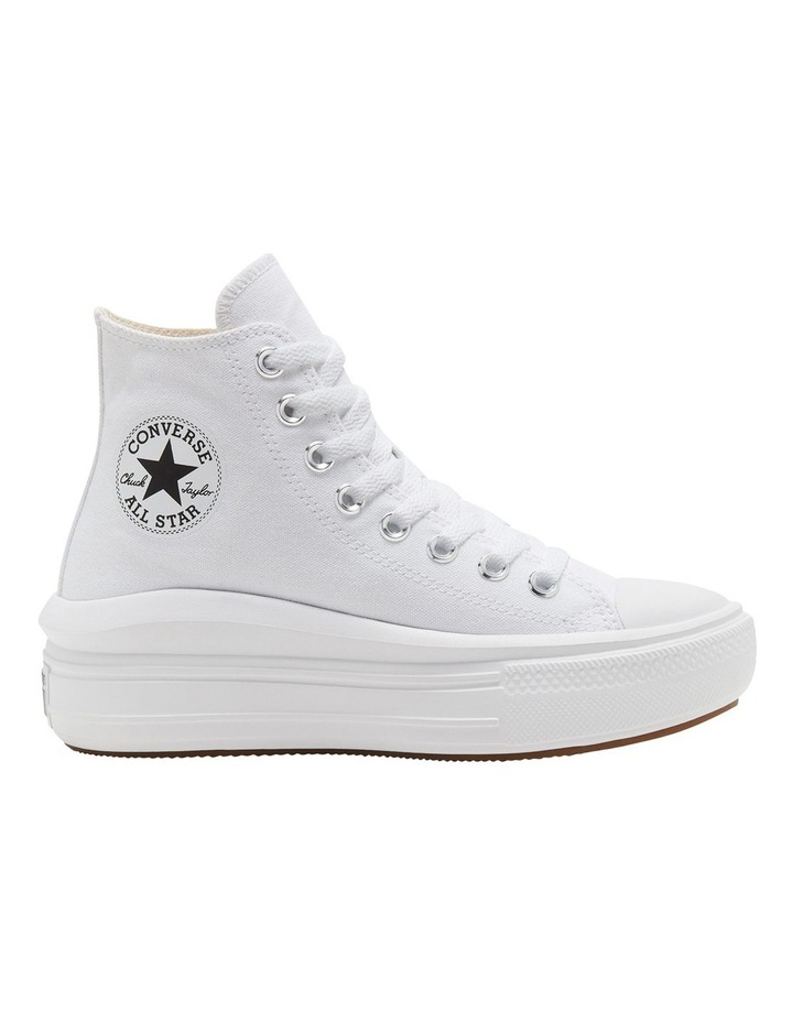 Chuck Taylor All Star Move Platform White Sneaker image 1