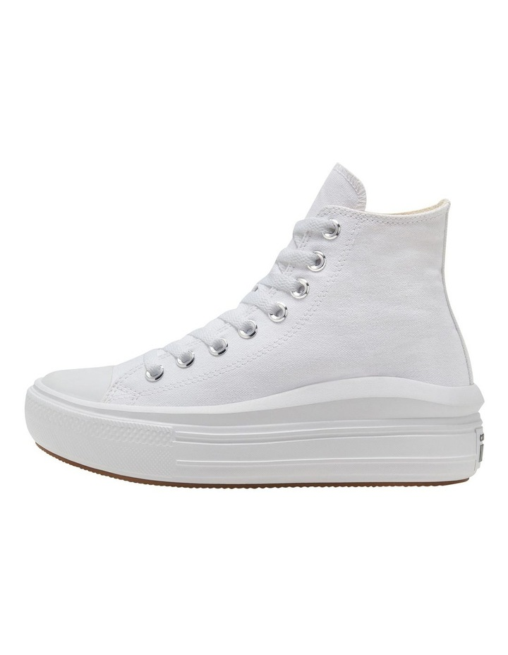 Chuck Taylor All Star Move Platform White Sneaker image 2