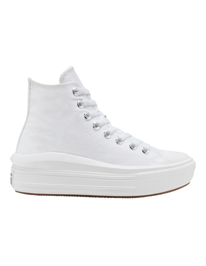 Chuck Taylor All Star Move Platform White Sneaker image 4