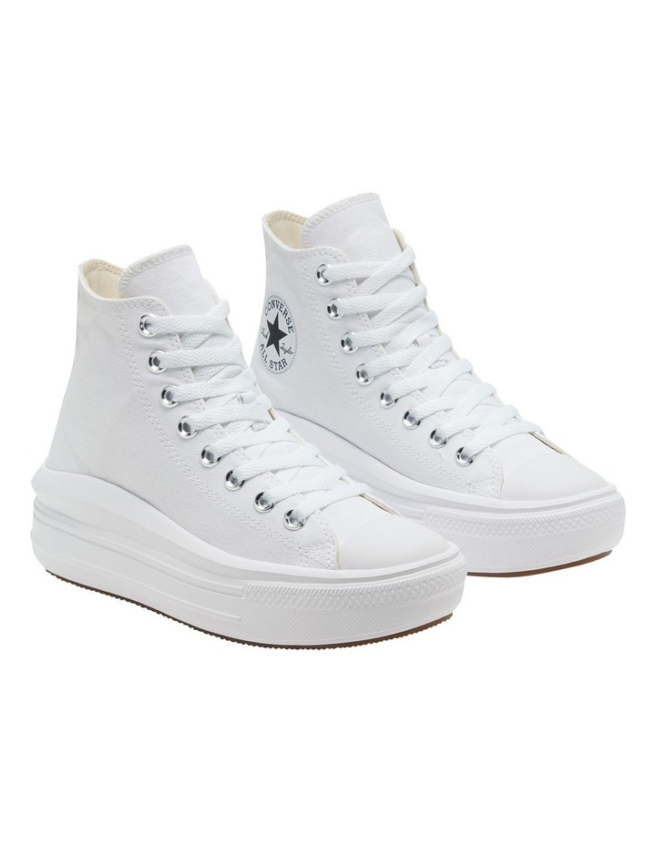 Chuck Taylor All Star Move Platform White Sneaker image 5