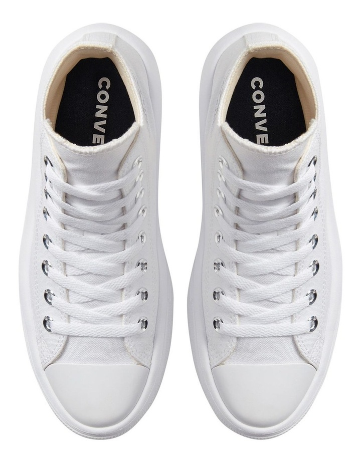 Chuck Taylor All Star Move Platform White Sneaker image 6