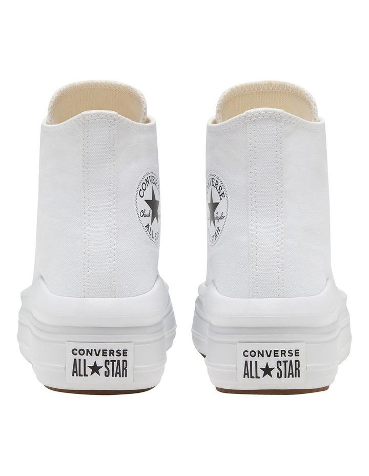 Chuck Taylor All Star Move Platform White Sneaker image 7