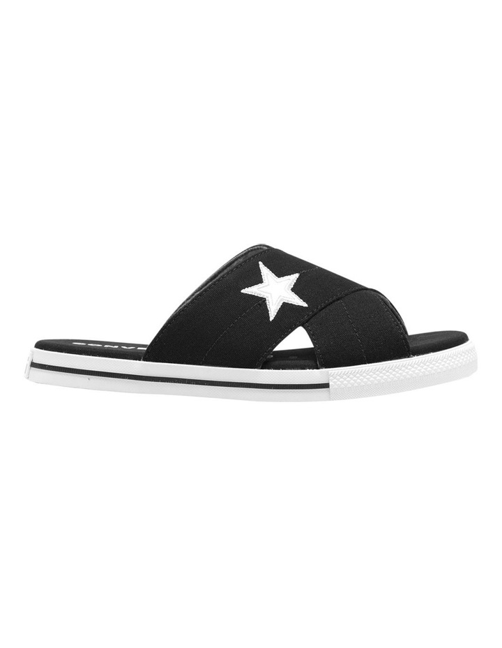 One Star Slide Black Sandal 565527C image 1