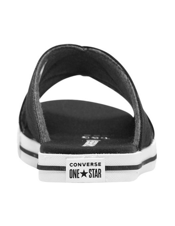 One Star Slide Black Sandal 565527C image 4