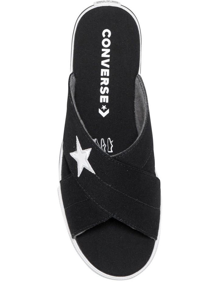 One Star Slide Black Sandal 565527C image 5