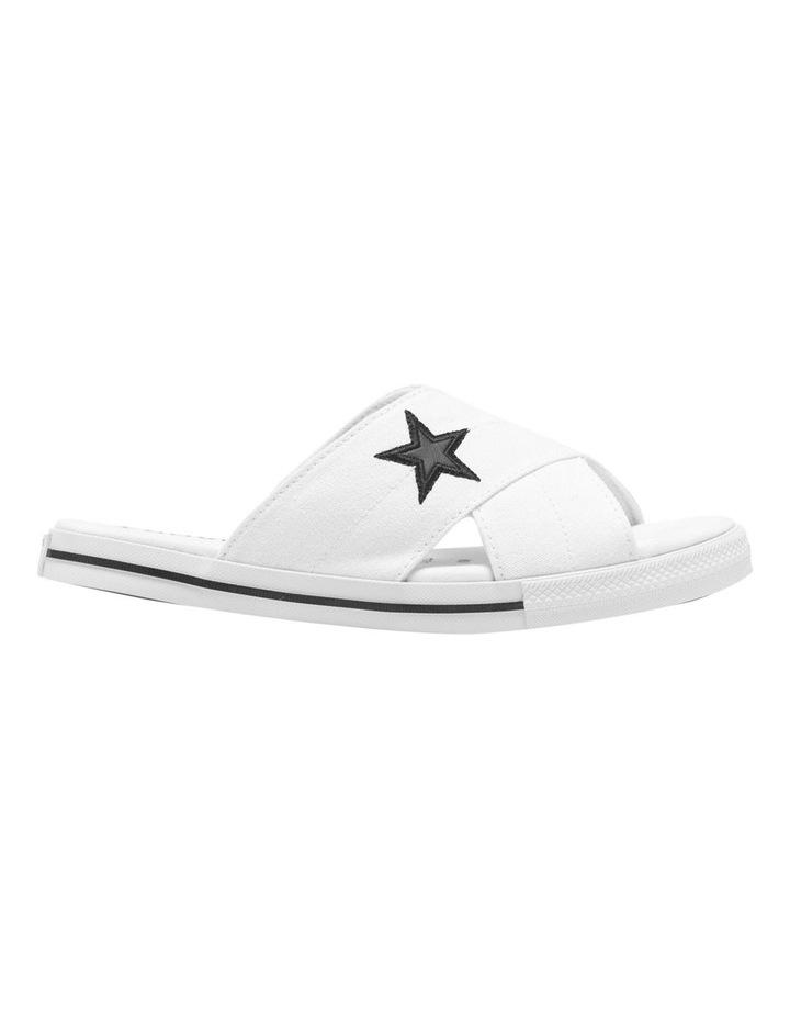 One Star Slide White Sandal 565530C image 1