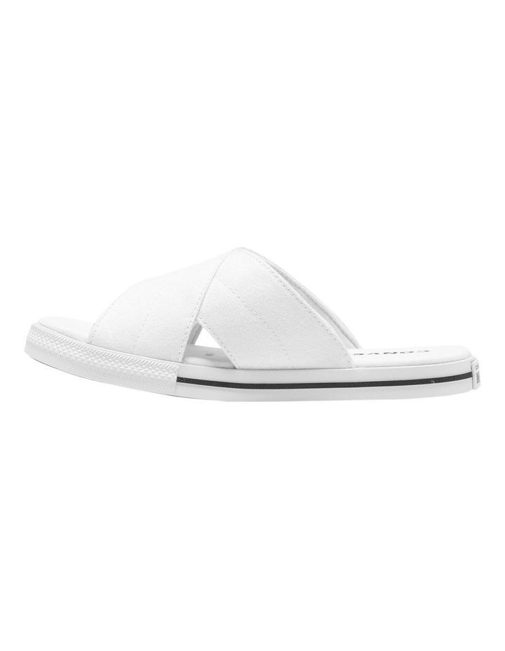 One Star Slide White Sandal 565530C image 2