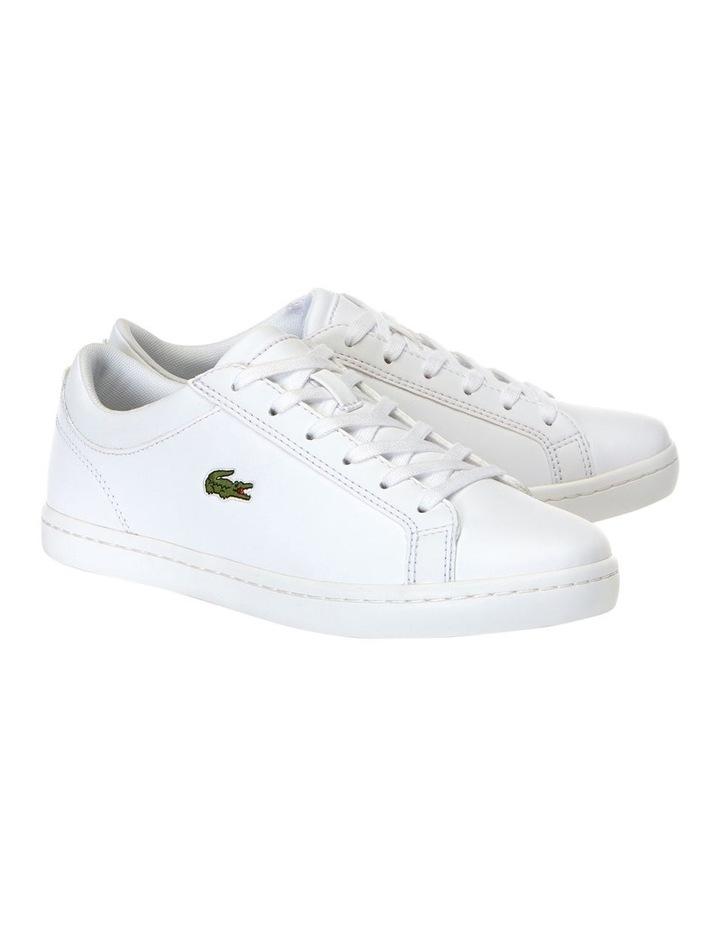 Straigtset BL 1 White Leather Sneaker image 2