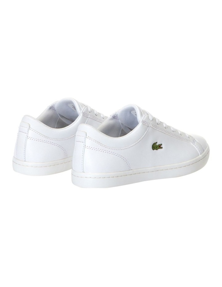 Straigtset BL 1 White Leather Sneaker image 3