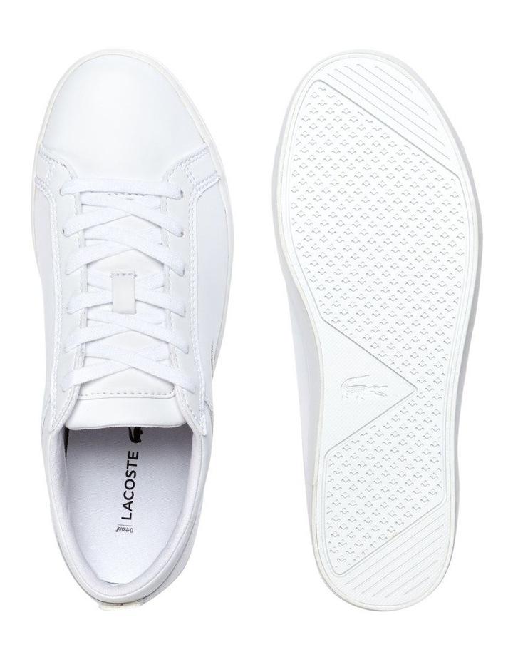 Straigtset BL 1 White Leather Sneaker image 4
