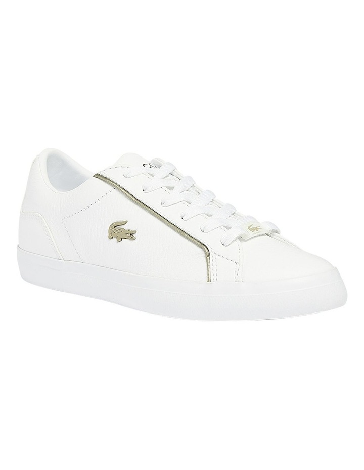 Lerond White Lace-Up Sneaker image 1