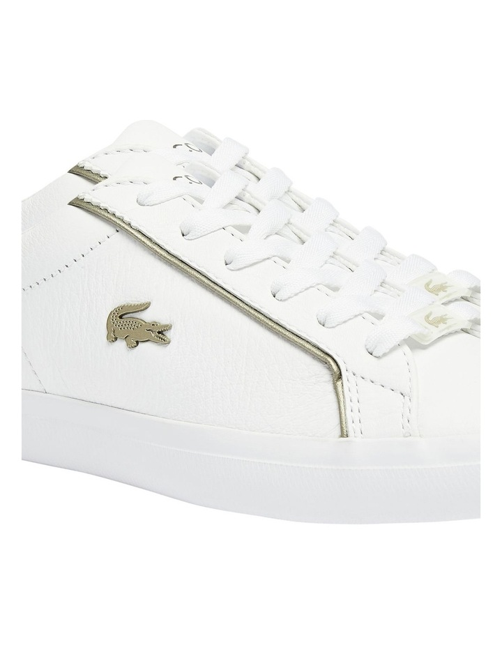 Lerond White Lace-Up Sneaker image 2