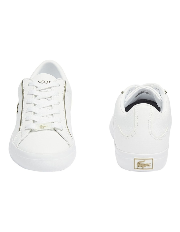 Lerond White Lace-Up Sneaker image 3