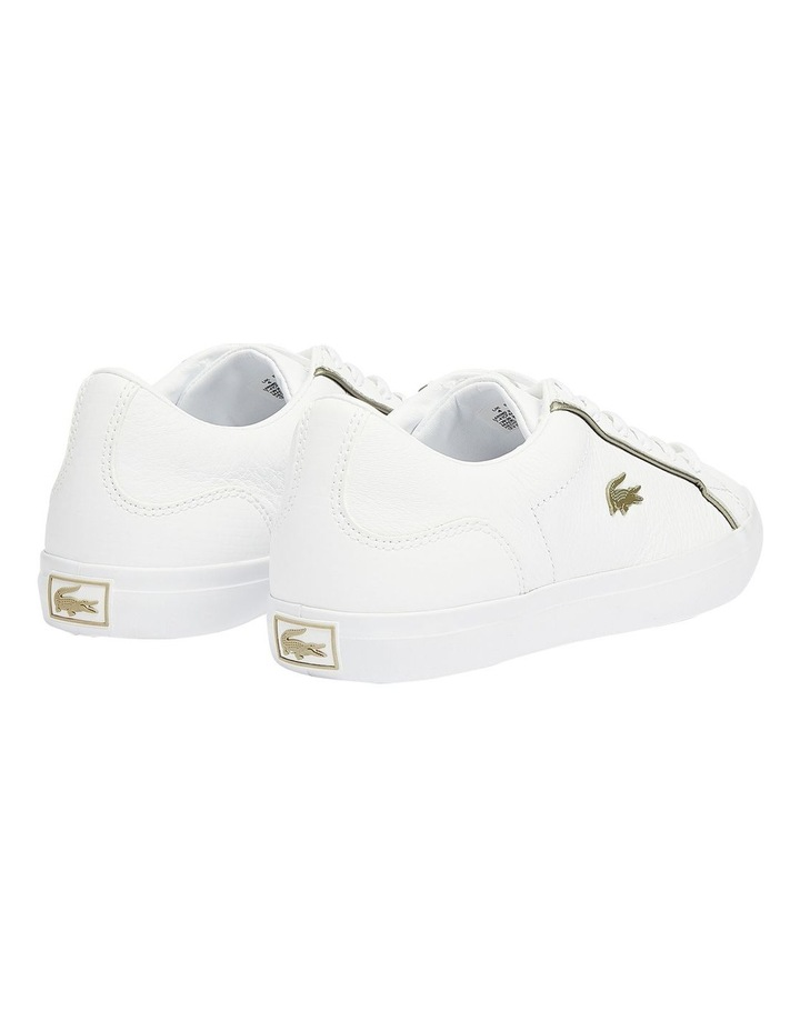 Lerond White Lace-Up Sneaker image 4