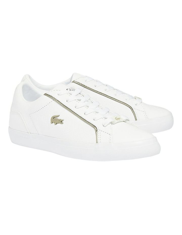 Lerond White Lace-Up Sneaker image 5