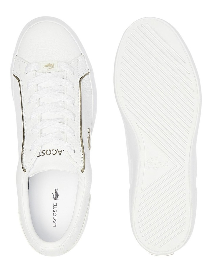 Lerond White Lace-Up Sneaker image 6