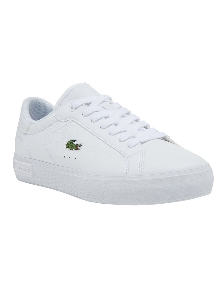 Women's Powercourt Leather And Synthetic Sneakers image 1