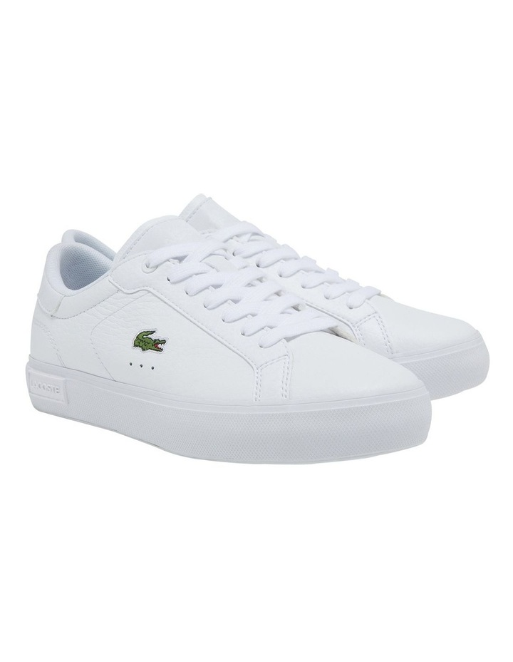 Women's Powercourt Leather And Synthetic Sneakers image 2
