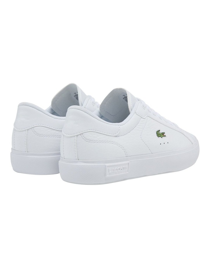 Women's Powercourt Leather And Synthetic Sneakers image 3