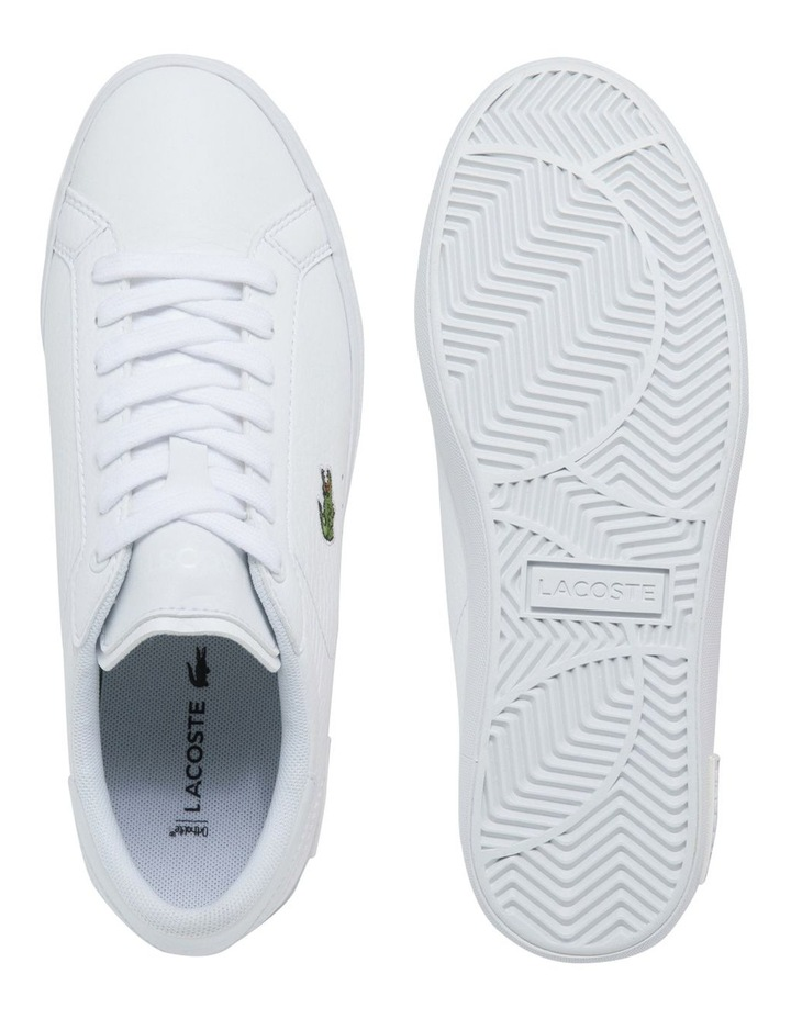 Women's Powercourt Leather And Synthetic Sneakers image 4