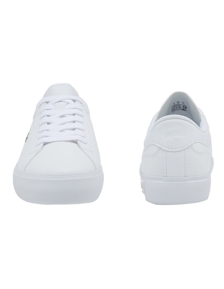 Women's Powercourt Leather And Synthetic Sneakers image 5