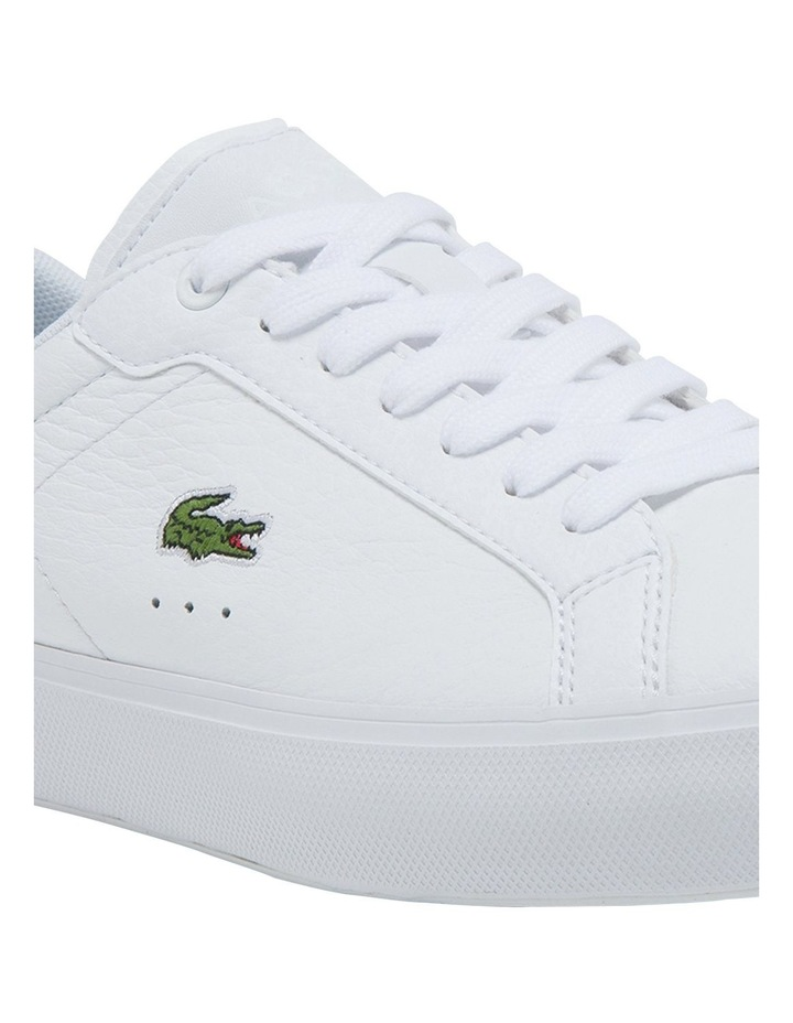 Women's Powercourt Leather And Synthetic Sneakers image 6