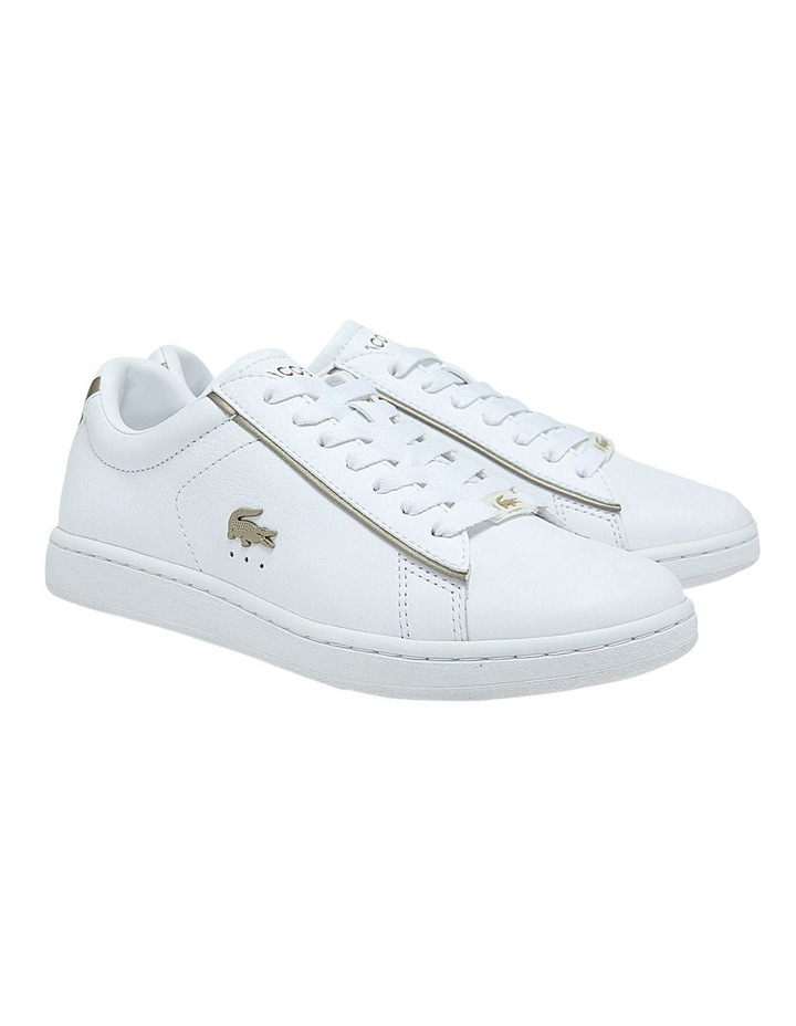 Women's Carnaby Evo Leather Platinum Detailing Sneakers image 2