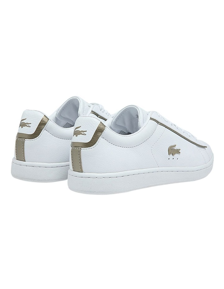 Women's Carnaby Evo Leather Platinum Detailing Sneakers image 3