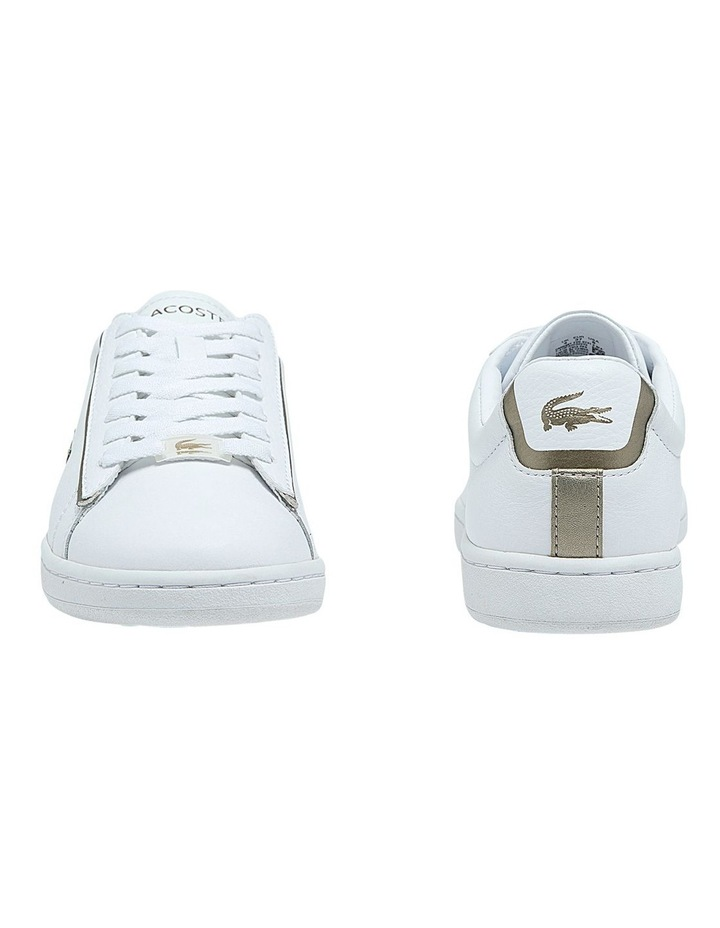 Women's Carnaby Evo Leather Platinum Detailing Sneakers image 5