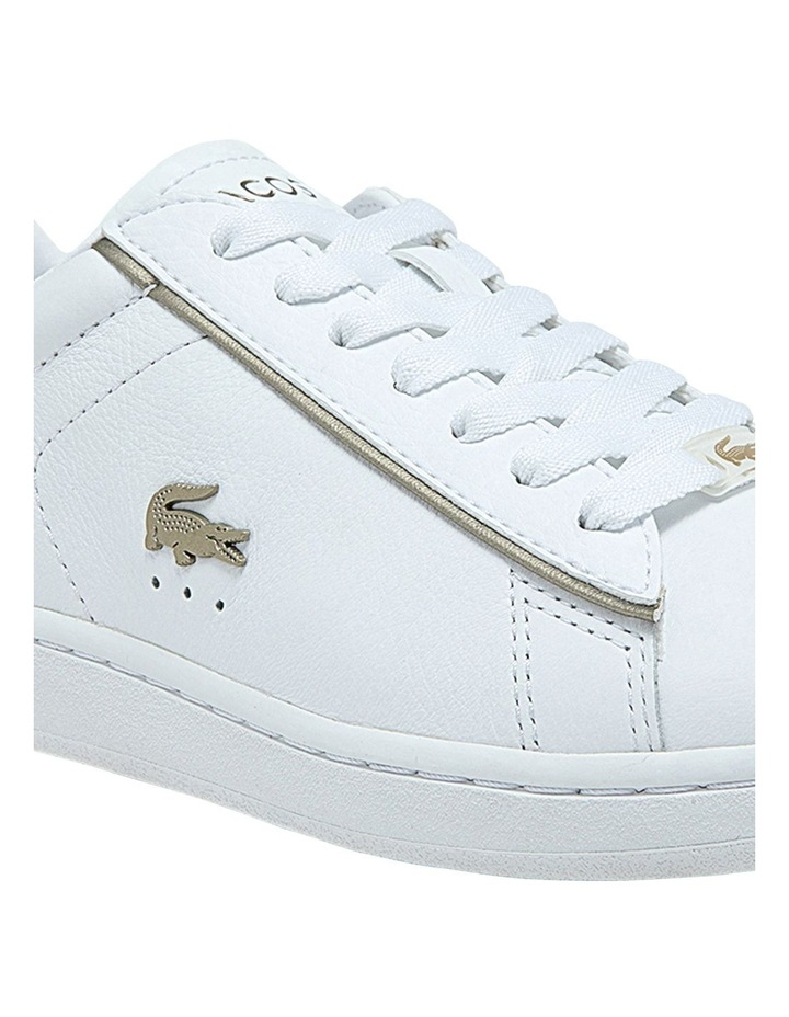Women's Carnaby Evo Leather Platinum Detailing Sneakers image 6