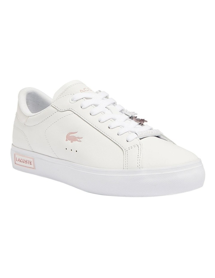 Women's Powercourt Leather Iridescent Detail Trainers image 1