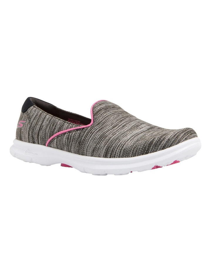 Go Step - Limitless/Linear Mesh 14225 Black/Pink Sneaker image 2