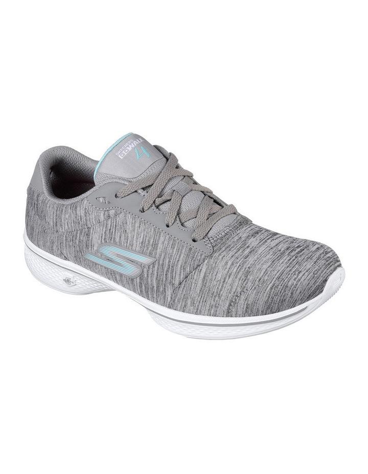 Go Walk 4 - Serenity 14173 Grey/Blue Sneaker image 2