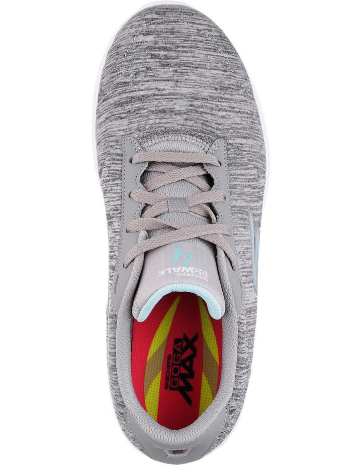 Go Walk 4 - Serenity 14173 Grey/Blue Sneaker image 5