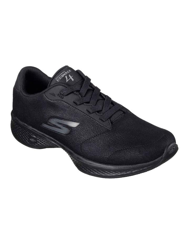 5596041564c7 NEW Skechers Go Walk 4 - Premier 14168 Black Black Sneaker Black