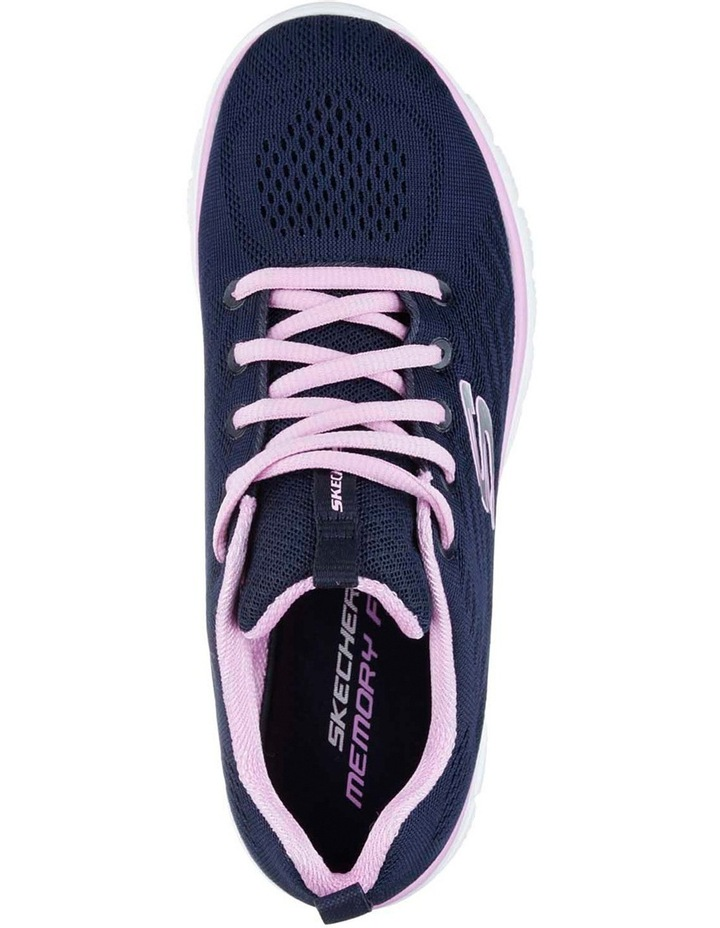 Navy/Pink Sneaker 12615 image 4