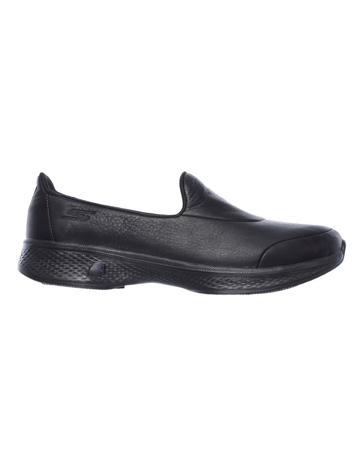 skechers go walk leather black
