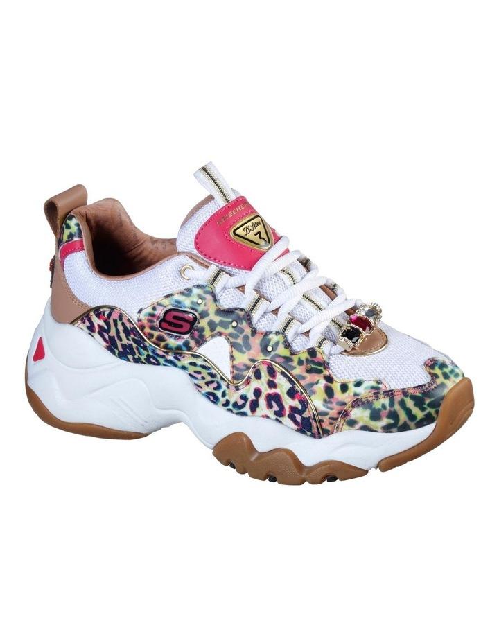 DLites 3.0 - Cheetah Queen White/Multi Sneaker image 1