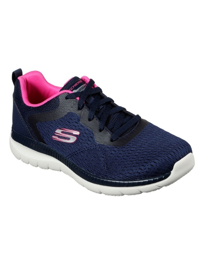 Bountiful - Quick Path 12607 Navy/Hot Pink Sneaker image 2